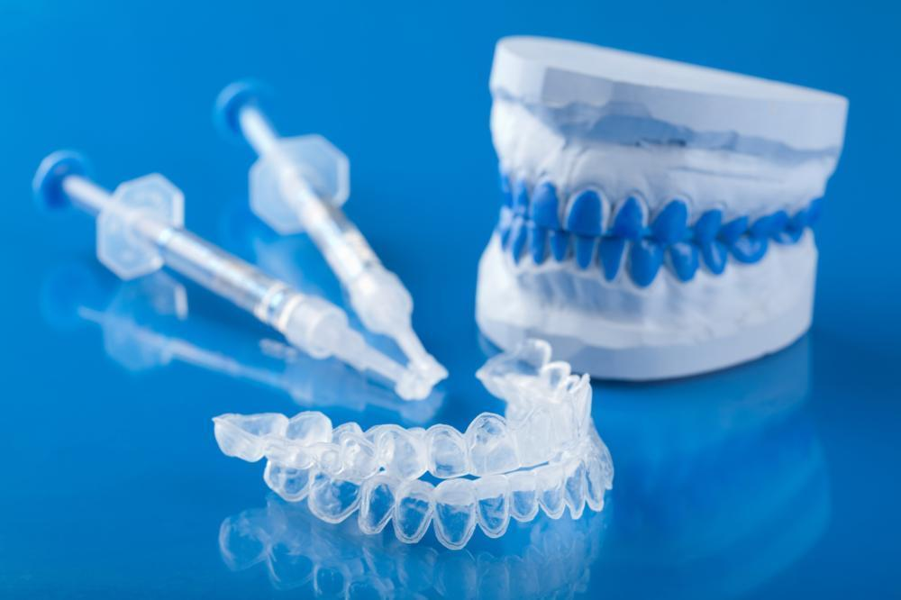 Dental tools used for professional teeth whitening in Bonita Springs FL