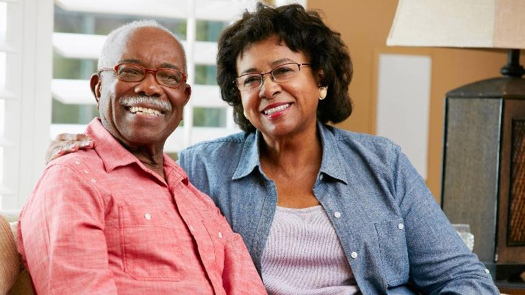 Older Couple Smiling | Bonita Springs FL Dentist