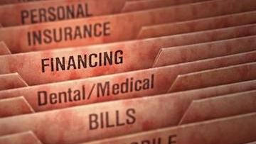 A set of labeled financial files | dentist bonita springs